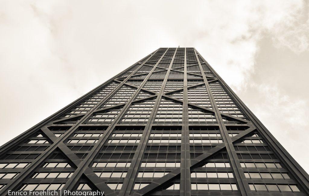John Hancock Tower; Michigan Av.