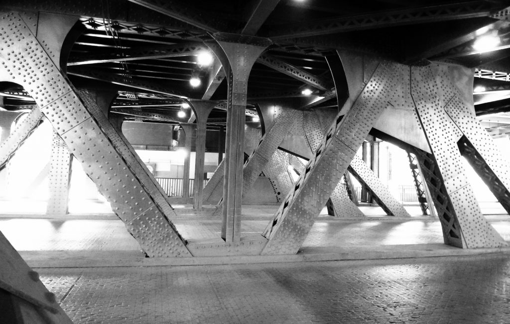 Outer Drive Bridge; Chicago Loop